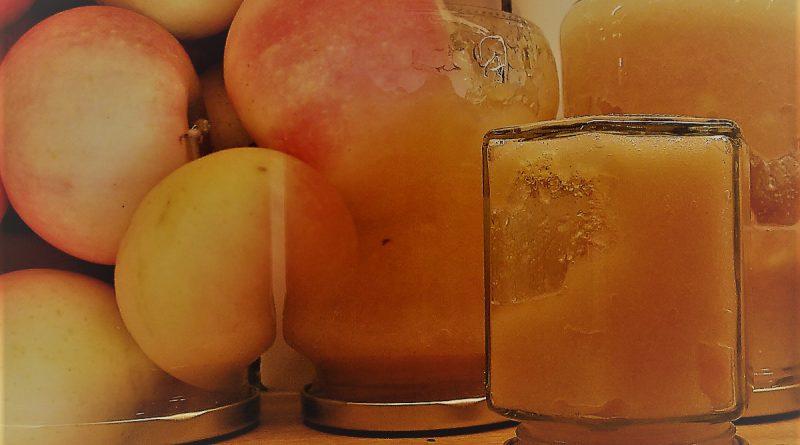 äppelmos med honung
