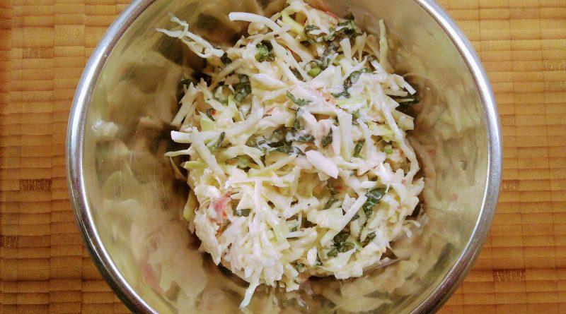 Coleslaw med grönkål